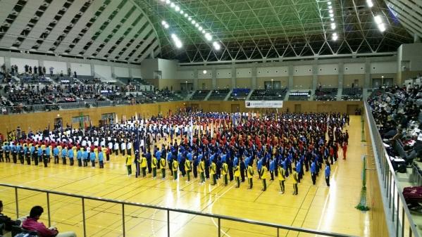 2015 全国選抜 ハンド 開会式