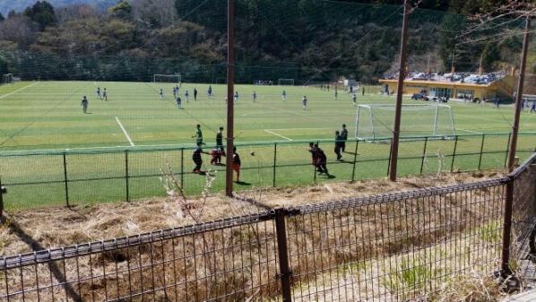 2015 サッカー静岡合宿2