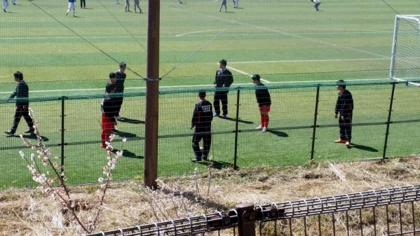 2015 サッカー静岡合宿1