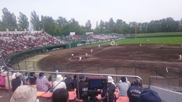 世良田バックホーム